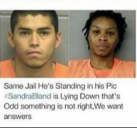 Sandra Same Jail