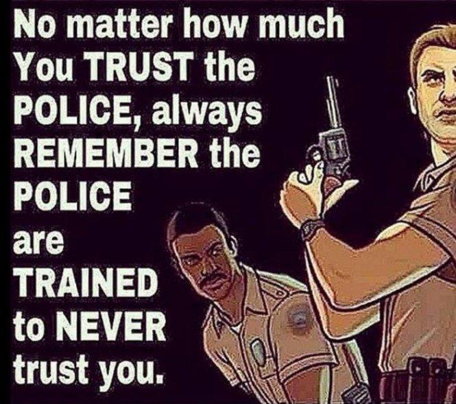Police Kill trust