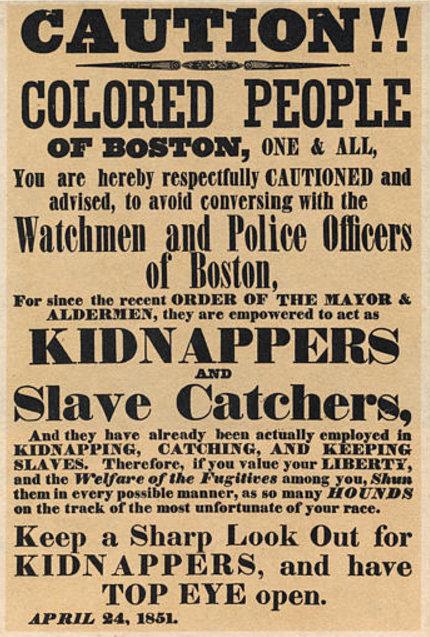 Fugitive Slave #LetOurVoicesEcho
