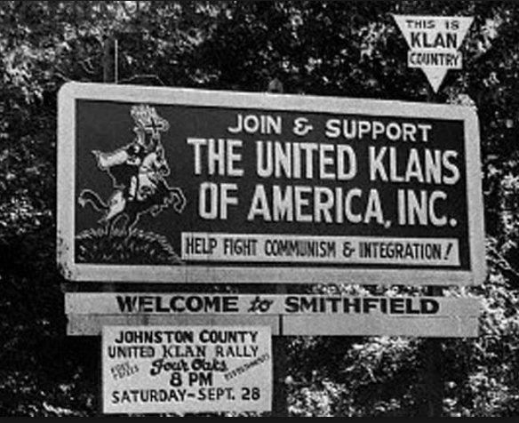 #LetOurVoicesEcho #KKK #JohnsonCounty #KlanRally