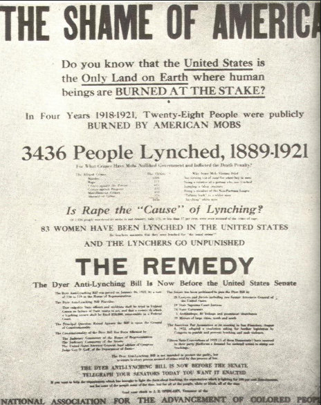 #LetOurVoicesEcho #Lynching 1889-1921
