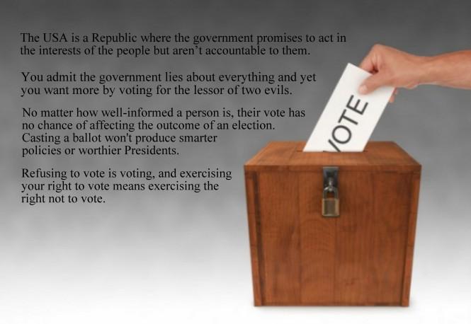 #LetOurVoicesEcho #Voting