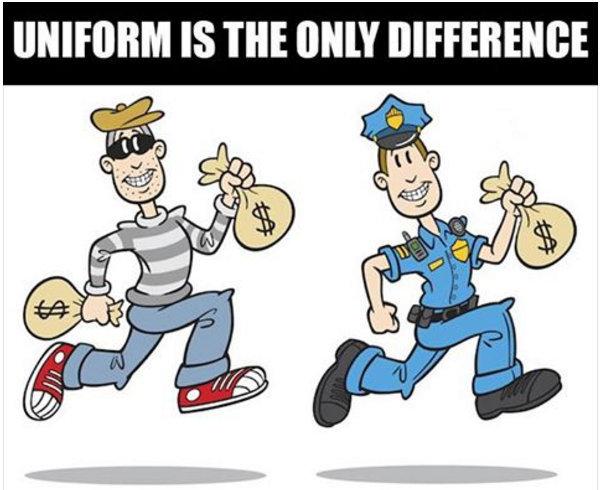 #LetOurVoicesEcho #PolicingForProfit