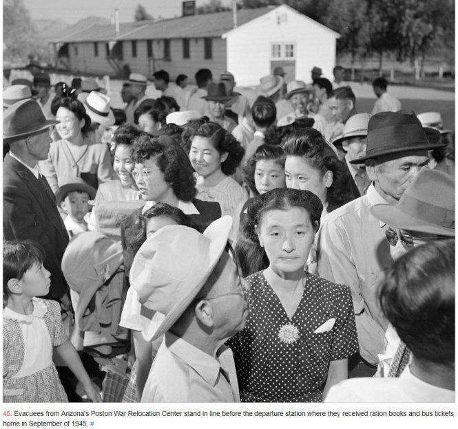 #LetOurVoicesEcho #Japanese #PostonAZRelocationCenter 1945