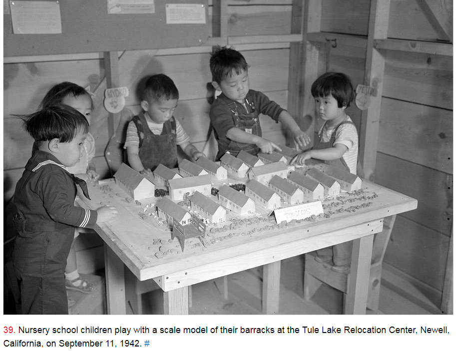 #LetOurVoicesEcho #JapaneseRelocationCamp #TuleLake1942 Children