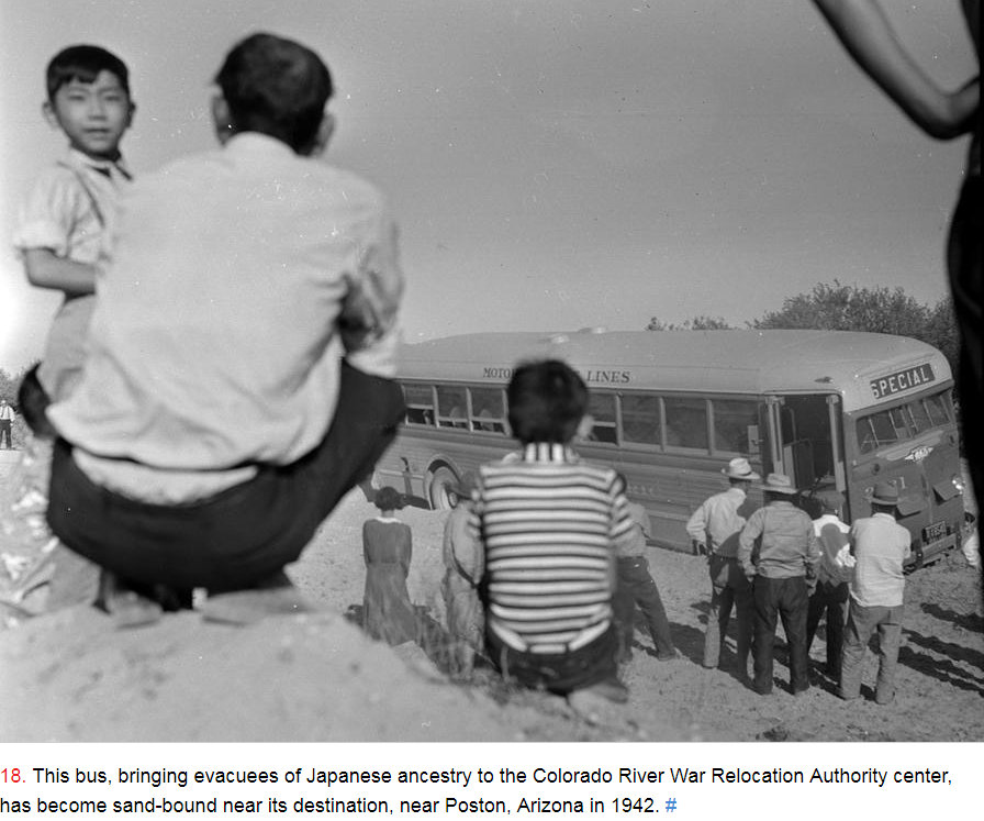 #LetOurVoicesEcho #JapaneseRelocationCampEvacuees #Poston AZ 1942_