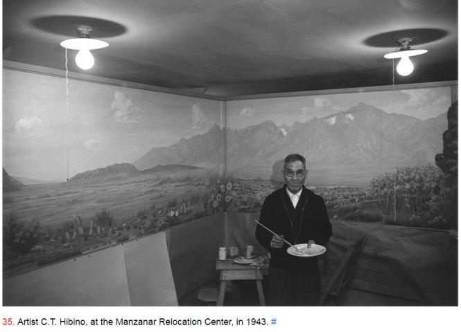 #LetOurVoicesEcho #ManzanarJapanese #ArtistCTHibino