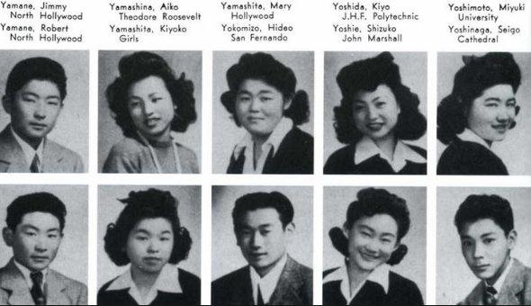 #LetOurVoicesEcho #ManzanarJapaneseStudents