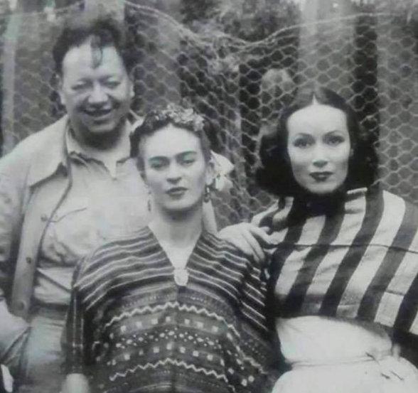 #FridaKhalo #DiegoRivera #DeloresDelRio #LetOurVoicesEcho