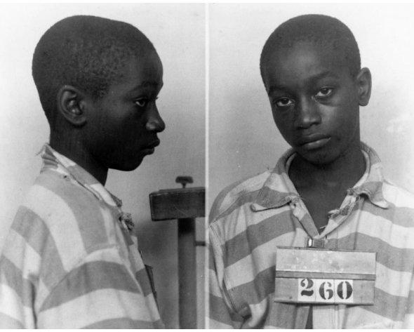 #GeorgeStinney #Jim Crow #LetOurVoicesEcho